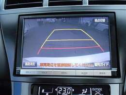 ☆ バックモニター連動で 車庫入れも安心です
