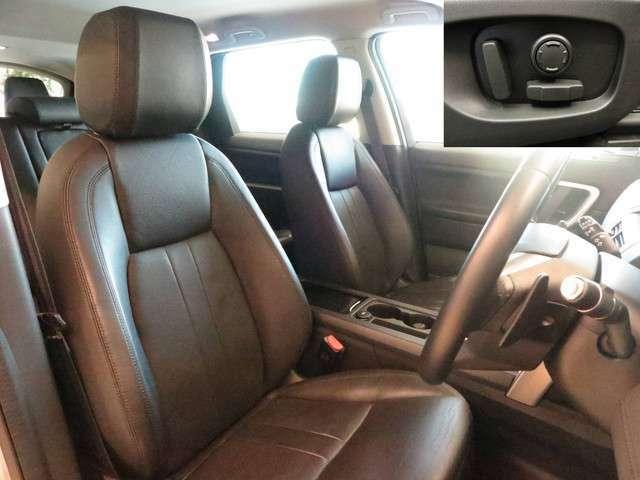 10Way電動シート(114,000円)上質なパフォーレイテッドレザー(290,000円)を採用した、シートは座り心地もよく設計されております。また運転席も使用感はなくきれいな状態を保って入庫しております。