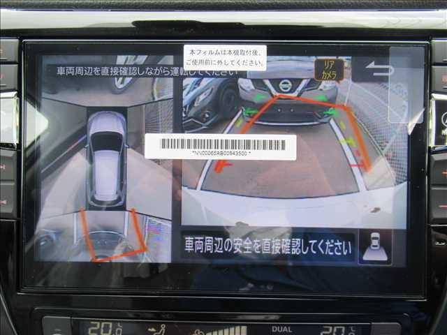 全方位モニター装備。上から見れるので駐車や車庫入れも楽々ですよ☆
