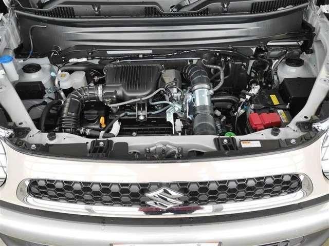 クリーンで低燃費のエンジン