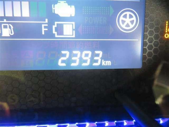 走行距離約2400キロ。まだまだ新しいおクルマです☆