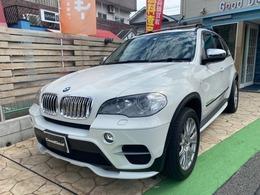 BMW X5 xドライブ 35d ブルーパフォーマンス ダイナミック スポーツ パッケージ 4WD サンルーフ 本革 純正ナビ BBS19アルミ