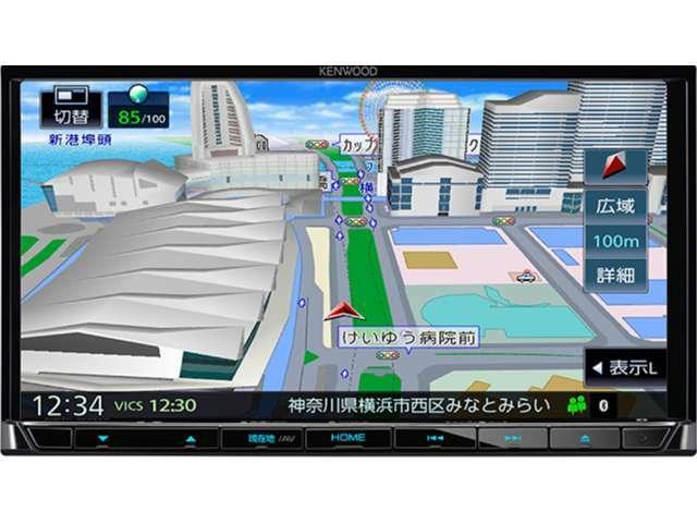 Aプラン画像:ケンウッドS707ナビはDVD再生CD録音USB&SDカード対応でハンズフリー電話もOKです走行中TV映りますステリモUSB接続