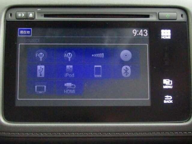 ナビ機能だけでなく、Bluetooth、テレビ、DVDとCD再生など、オーディオ機能がついています。