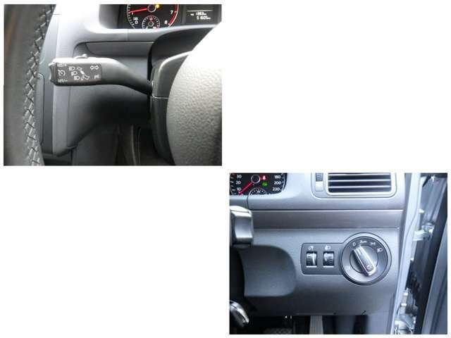 AUTOライト、高速道路ロングドライブでは大変役立つクルーズコントロールも装備されています。