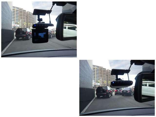 ドライブレコーダーも装着されていますので安心です。