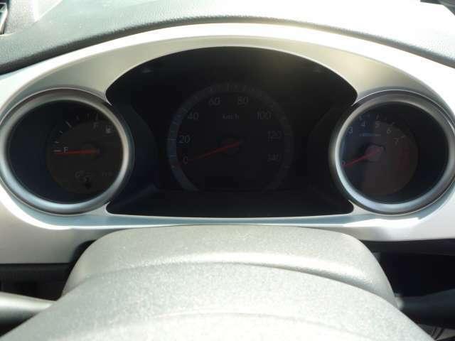 カッコイイ3連メーター!☆パチパチヽ('-'*) 左側が燃料系と右側がタコメーター♪エンジンOFFで照明が消灯!18年 タイプS R WRブルー 4WD!検 2年付き!お支払総額25,7万円♪