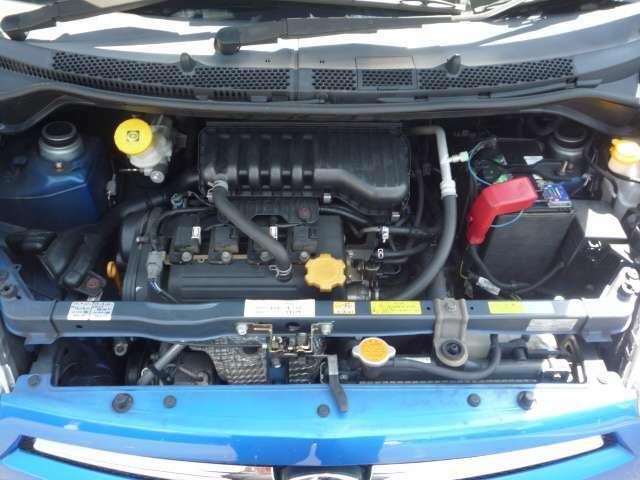 機関良好!H18年 検 2年付き!4WD!♪オイル漏れも無くエンジン音も静かで14万km走ってますが調子いいですよ♪オイル管理をしっかりしてきた証ですねヽ(*'0'*)