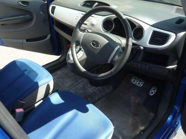 室内シートもブルー!これはタイプS限定車ならではなんです!やっぱりボディがブルーならシートもブルーで(^^♪