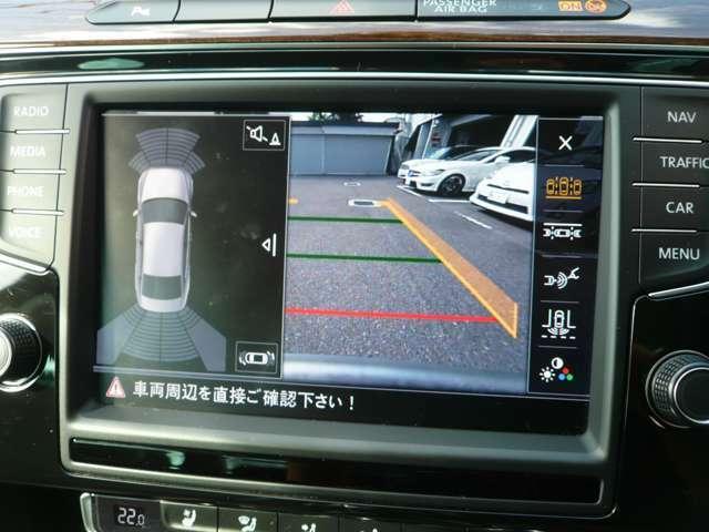 バックカメラも標準装備!駐車時も安心です!