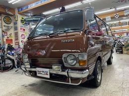 トヨタ ハイエース ワゴン スーパーカスタム コラム4MT オリジナル サバイバー個体