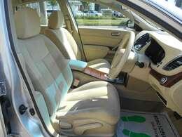 全席シルキーエクリュトリコットシート!肌触りも良く心地よい空間となっております!シートリフターにより座席の高さを調節することも可能です!