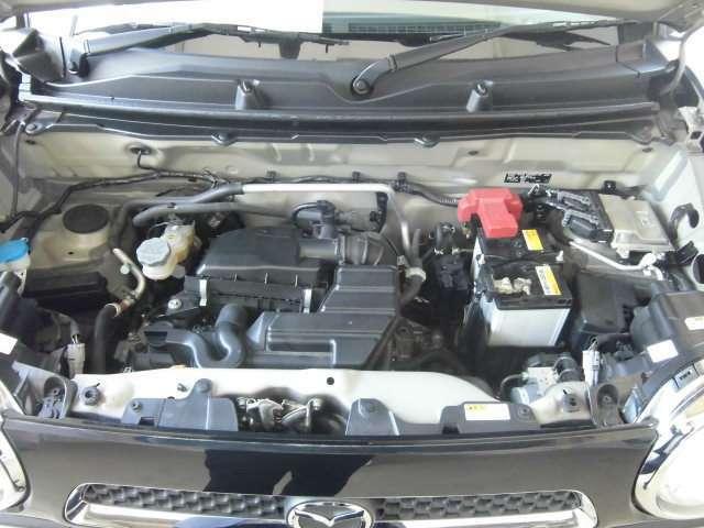 街乗りに快適な660ccエンジンです。