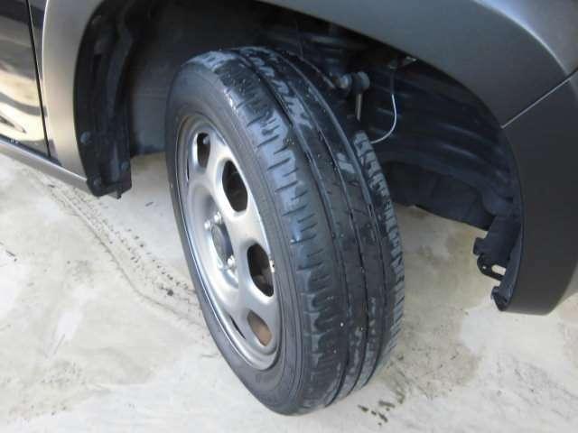 タイヤ溝もまだまだあるのでご安心ください。