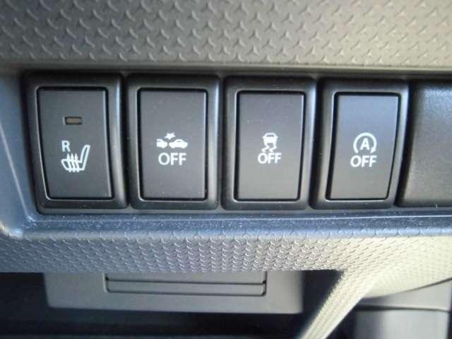 冬場には嬉しいシートヒーターも装備されています。