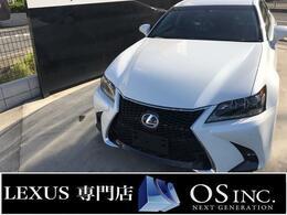 レクサス GS 350 Iパッケージ 現行Fスポーツスピンドル仕様/地デジ/