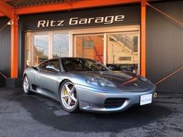 フェラーリ 360モデナ 3.6 6速MT本革S左H社外マフラー走行32000キロ