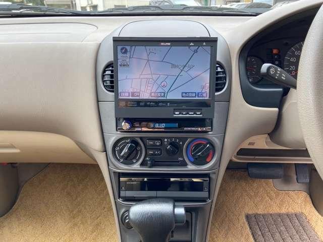 イクリプスHDDインダッシュナビ(CD・DVD・AUX・地デジ)ドライブが更に楽しくなる装備が多数ございます!!