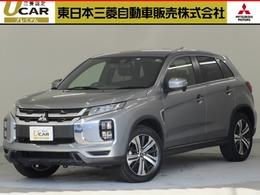 三菱 RVR 1.8 G 4WD /試乗車/7.7型ナビ/後側方車両検知/禁煙車/