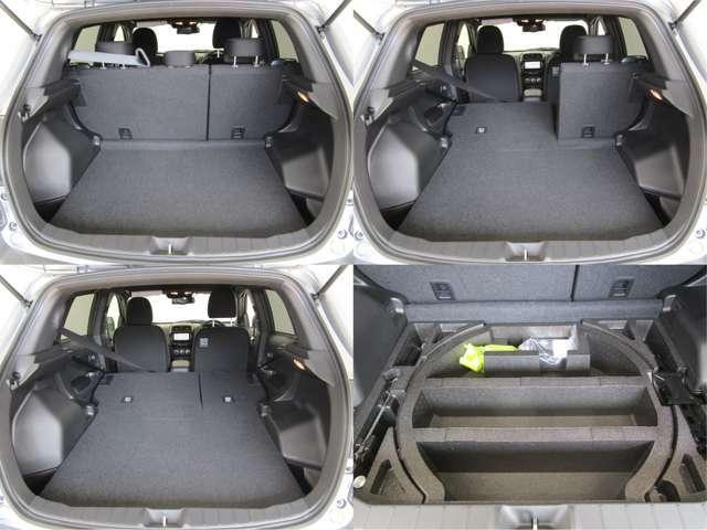 開口部も広く大きな荷物の積み降ろしも楽になります。