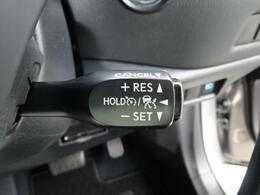 ☆高速道路などのロングドライブに便利なクルーズコントロール装備しています!(全車速追従機能付)