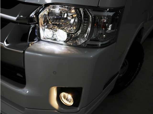メーカーオプション LEDヘッドランプ!