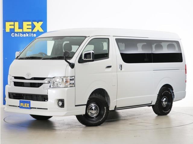 新車未登録 ハイエースワゴンGL ガソリン4WD FLEXオリジナル内装アレンジ【Ver2】!