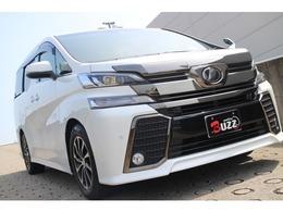 トヨタ ヴェルファイア 2.5 Z Aエディション ゴールデンアイズ 4WD 距離無制限保証リアモニタ電動バックドアET
