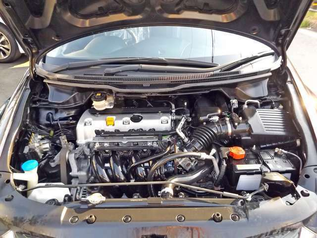 エンジンも好調です!!安心の交換不要なタイミングチェーン式です!!