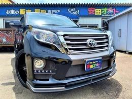 トヨタ ランドクルーザープラド 2.7 TX 4WD エアロ F/R 24インチAW 4本出マフラー