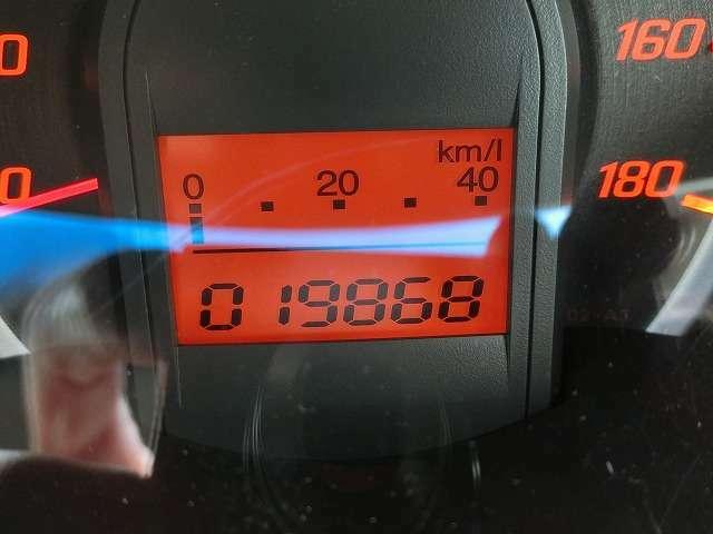 走行距離はほんの19868KM