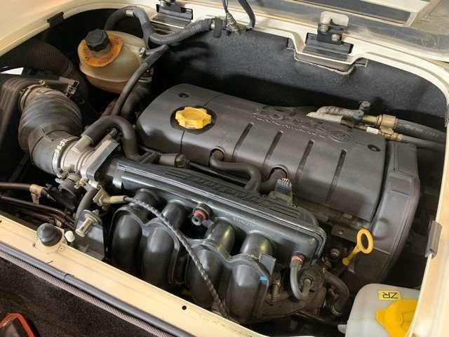 ローバー18K4Fです。軽量なエリーゼにはバランスのとれたエンジンです。