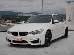 BMW M3セダン M DCT ドライブロジック アダプティブMサス スモークテール 禁煙車