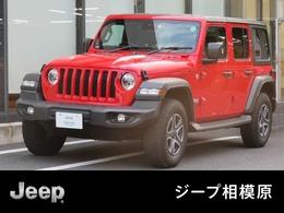 ジープ ラングラー アンリミテッド スポーツ 4WD 弊社デモカー 認定中古車 新車保証付