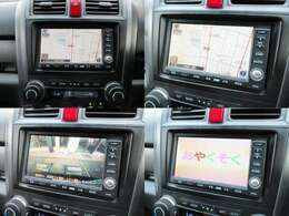 純正HDDナビが装備されております♪画面もクリアで運転中も確認しやすいです♪DVDの視聴もお楽しみ頂けます♪安心安全のガイドライン付きバックカメラも装備されています♪