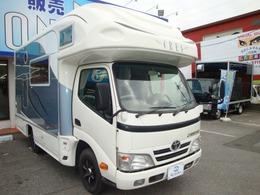 トヨタ カムロード クレア5.3X 1500W 家庭用エアコン・社外サスペンション