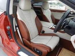 BMWインディビジュアル・バイカラー(アイボリーホワイト/タルトゥーフォ)フルレザーメリノインテリア(562000円相当)!