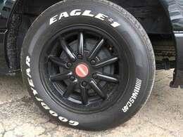 【ホワイトレタータイヤ】グッドイヤー EAGLE #1 NASCAR