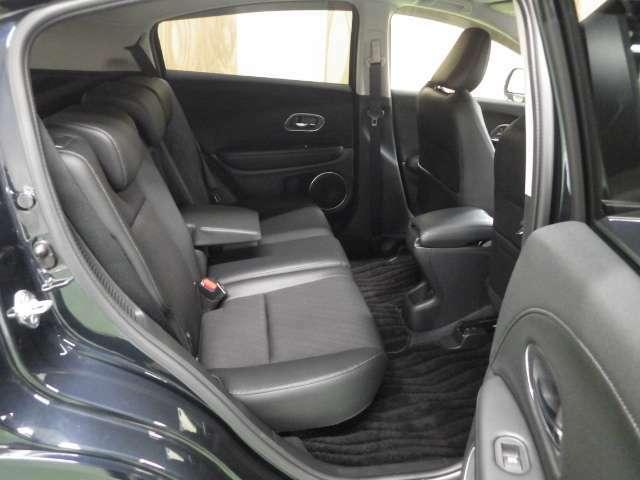 リア席もゆったりできる快適空間