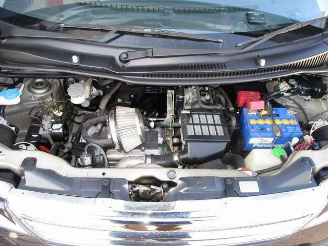 K6A型DOHC直列3気筒ターボエンジン 10・15モード燃費21.5km/L(カタログ値)