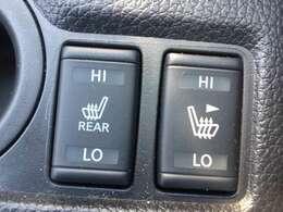 前席シートヒーター:エアコンよりすぐに暖かくなるので、冬の時期には必要になります。