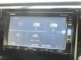 ナビゲーションはホンダ純正メモリーナビ VXM-175VFi が装着されております。AM、FM、CD、DVD再生、音楽録音再生、フルセグTV、Bluetoothがご使用いただけます。初めて訪れた場所でも道に迷わず安心ですね!