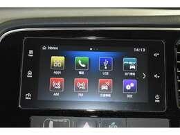 スマートフォン連携ディスプレイオーディオ(Bluetooth通信対応ハンズフリー&オーディオ機能・USBポート2個付)