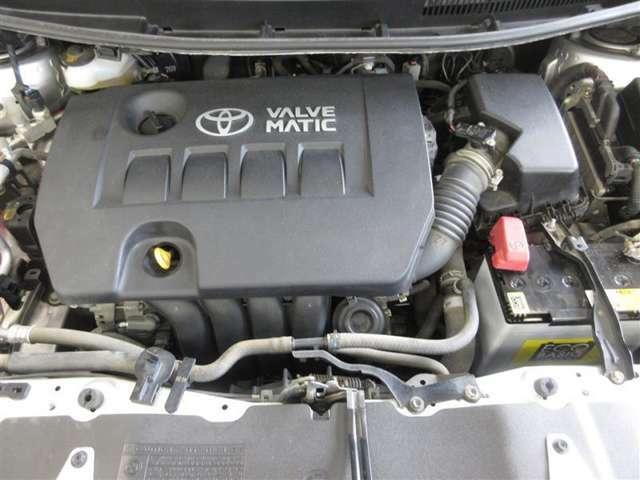 エンジンもプレミアム。世界でも数少ないバルブマッチクシステム+デュアルVVT-Iの高度なメカがもたらす強心臓です。