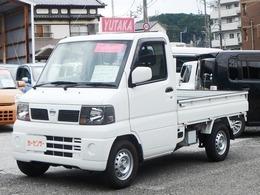 日産 クリッパートラック 660 DXエアコン付 4WD Hi-Low切替付き・5MT・Tベル交換済