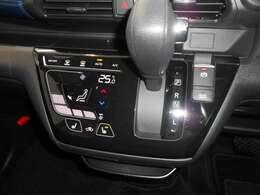 オートエアンなので、温度を設定しておけば気温や天候に合わせて自動で調節してくれます。