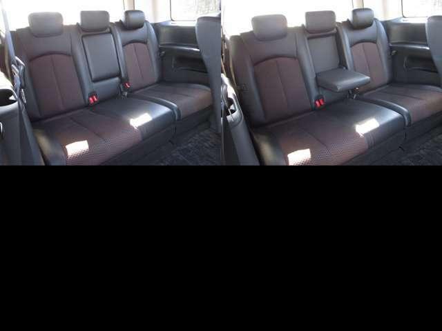 サードシート センターアームレスト付で、サードシートは格納出来ます。