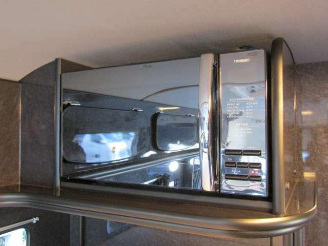 調理器具の代名詞の電子レンジを標準装備♪