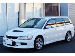 三菱 ランサーエボリューションワゴン 2.0 GT-A 4WD /ノーマル車/禁煙車/ナビ/バックカメラ