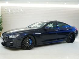 BMW 6シリーズグランクーペ 640i Mスポーツパッケージ サンルーフ ローダウン フォージアート